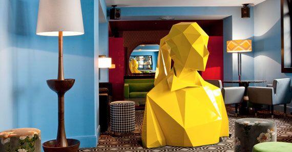 抽象化された立体。ポリゴン的に表現された彫刻を制作するアーティストXavier Veilhan   ADB