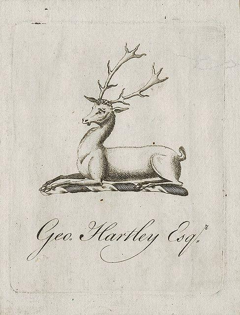 [Bookplate of Geo. Hartley]