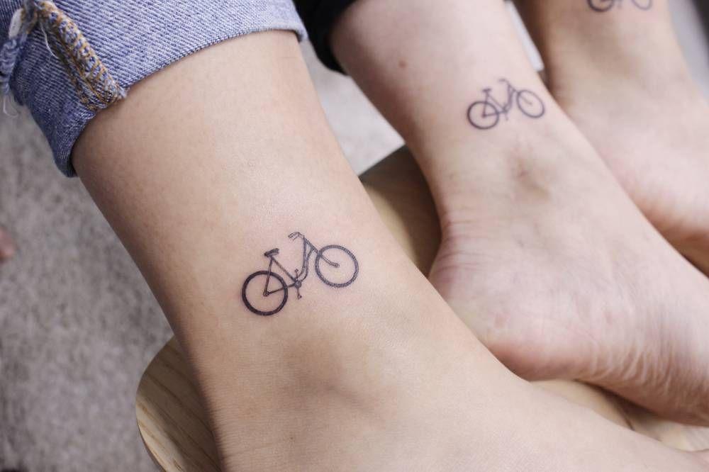 Bike Tattoo Leg Tattoo Bike Tattoos Tattoos Bicycle Tattoo