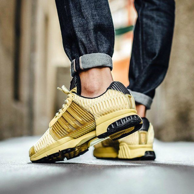 Fancy | adidas Originals Yellow Clima Cool 1 Sneakers | Sneakers ...