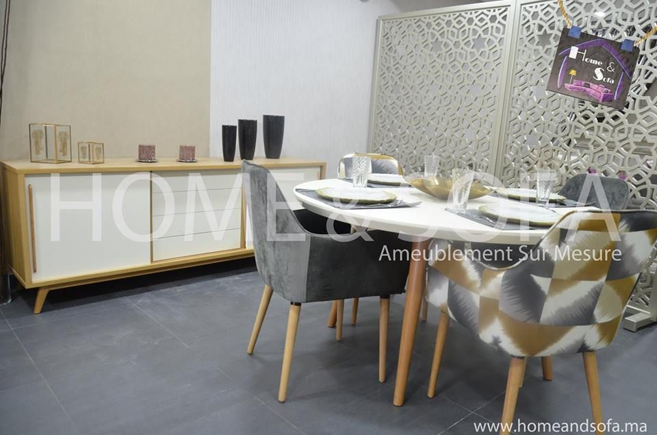 Decoration Salle A Manger Design. Free Salle Manger Tout De Blanc