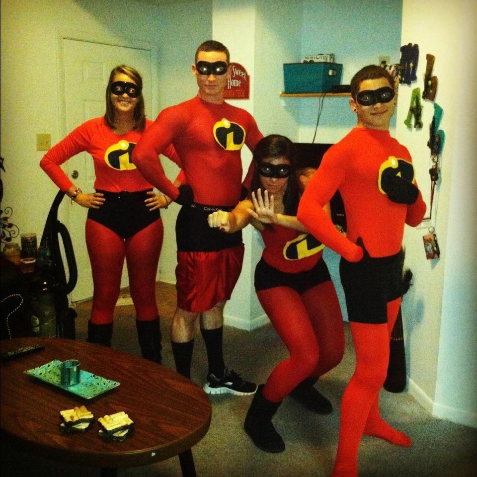 incredibles halloween costume diy