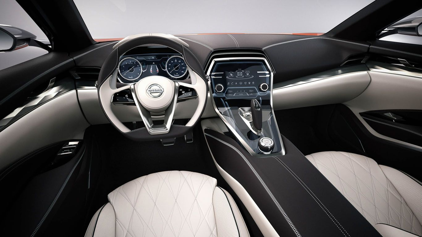 Nissan Maxima 2015 Interior Concept Wallpaper