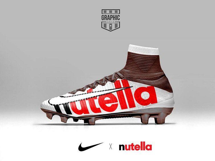 Adidas customised football boots