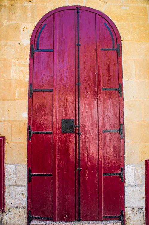Door in Gozo, Malta