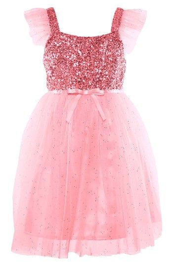 9da6e766ede1d Free shipping and returns on Popatu Sequin Bodice Tulle Dress ...