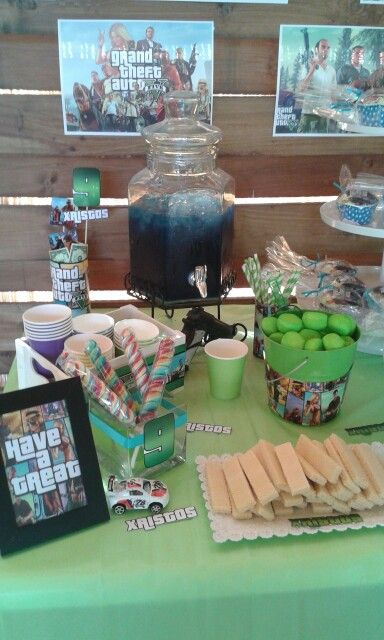 GTA BIRTHDAY PARTY
