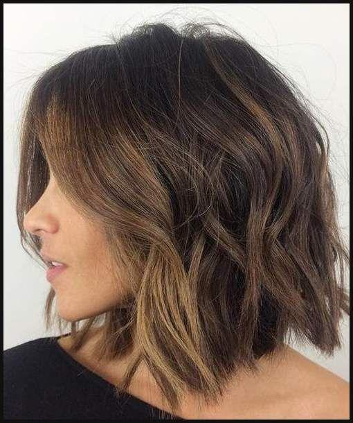 Kreative Modisch Frisuren Mittellang Bob Frisur Coole Frisuren Haarschnitt