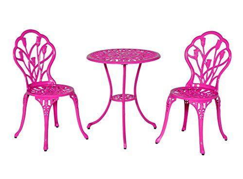 Meadow Décor Bistro Table and Chair Set, Pink Tulip Meadow Décor http://www.amazon.com/dp/B00R61W0PO/ref=cm_sw_r_pi_dp_F.V-vb1X6WQ84