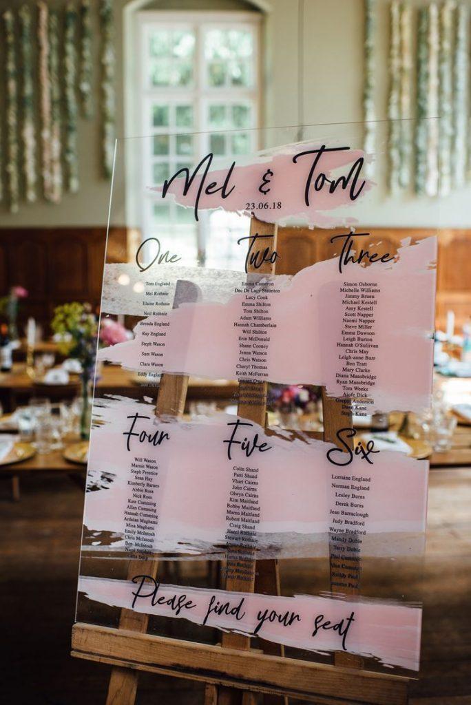 20 Trendy Acrylic Lucite Wedding Ideas Including Invitations