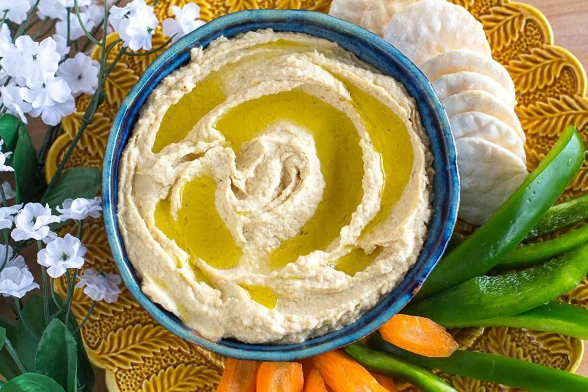 Garlicky Low FODMAP Hummus Recipe (With images) Low
