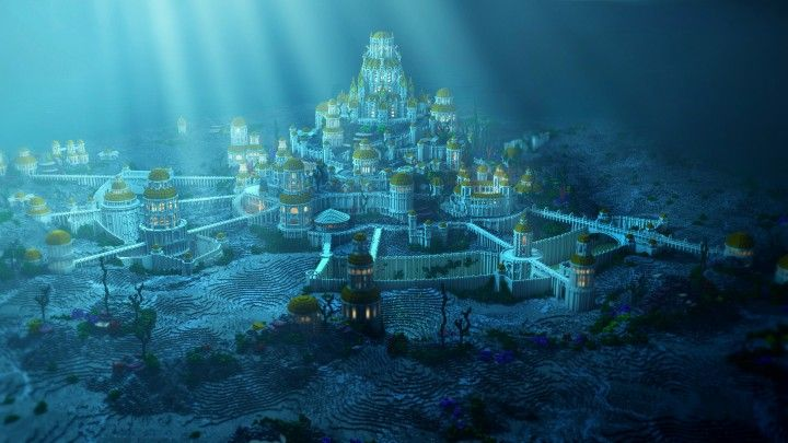 Atlantis - The under water city ( Built for Atlanticcraft's newest animation ) Minecraft Project