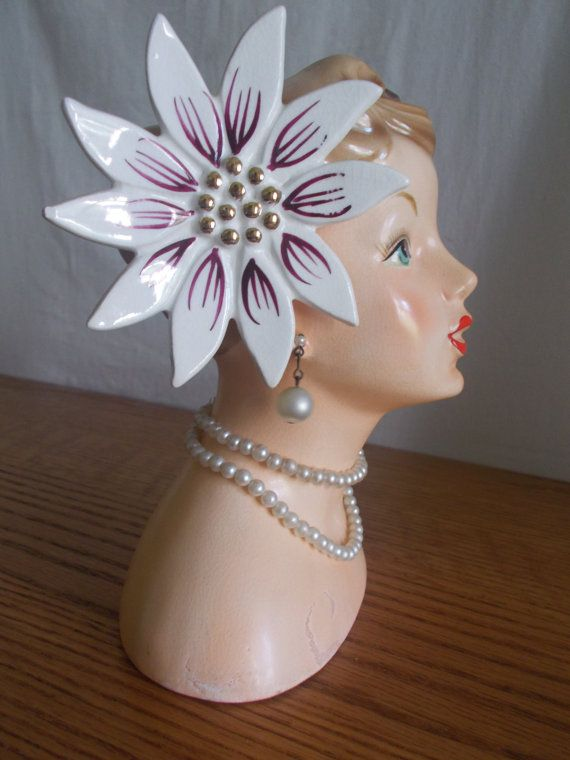 1958 Napco Flower Head Vase My Old Neighbor Victor Likes
