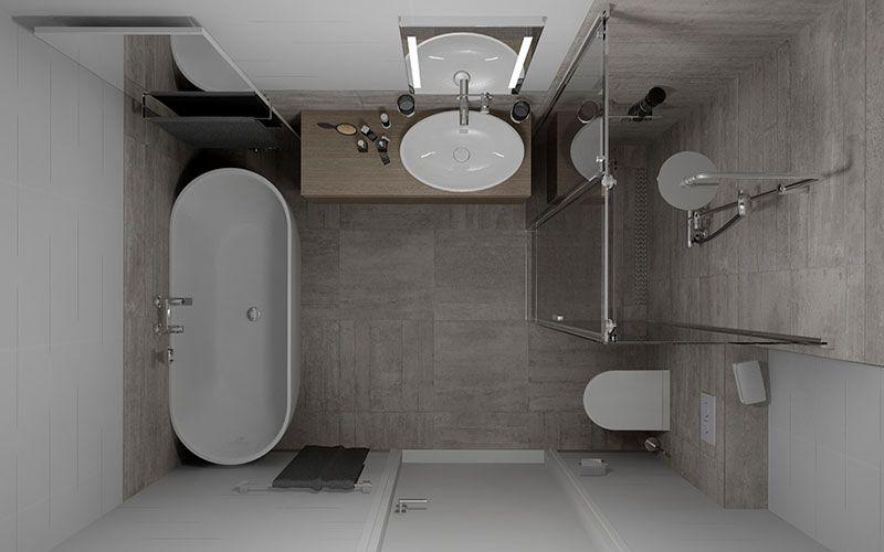 badkamers met vrijstaande baden - Google zoeken | Küçük Banyolar ...