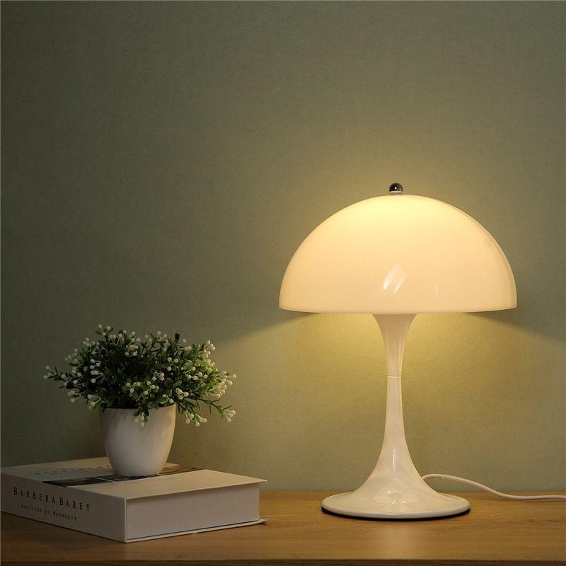Mushroom Table Lamp Bedroom Bedside Lamp Home Decoration Ebbri Modern Desk Lamp Lamps Living Room Table Lamp