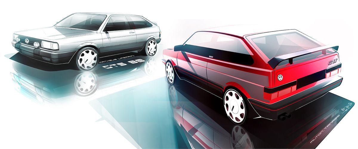Volks classic car