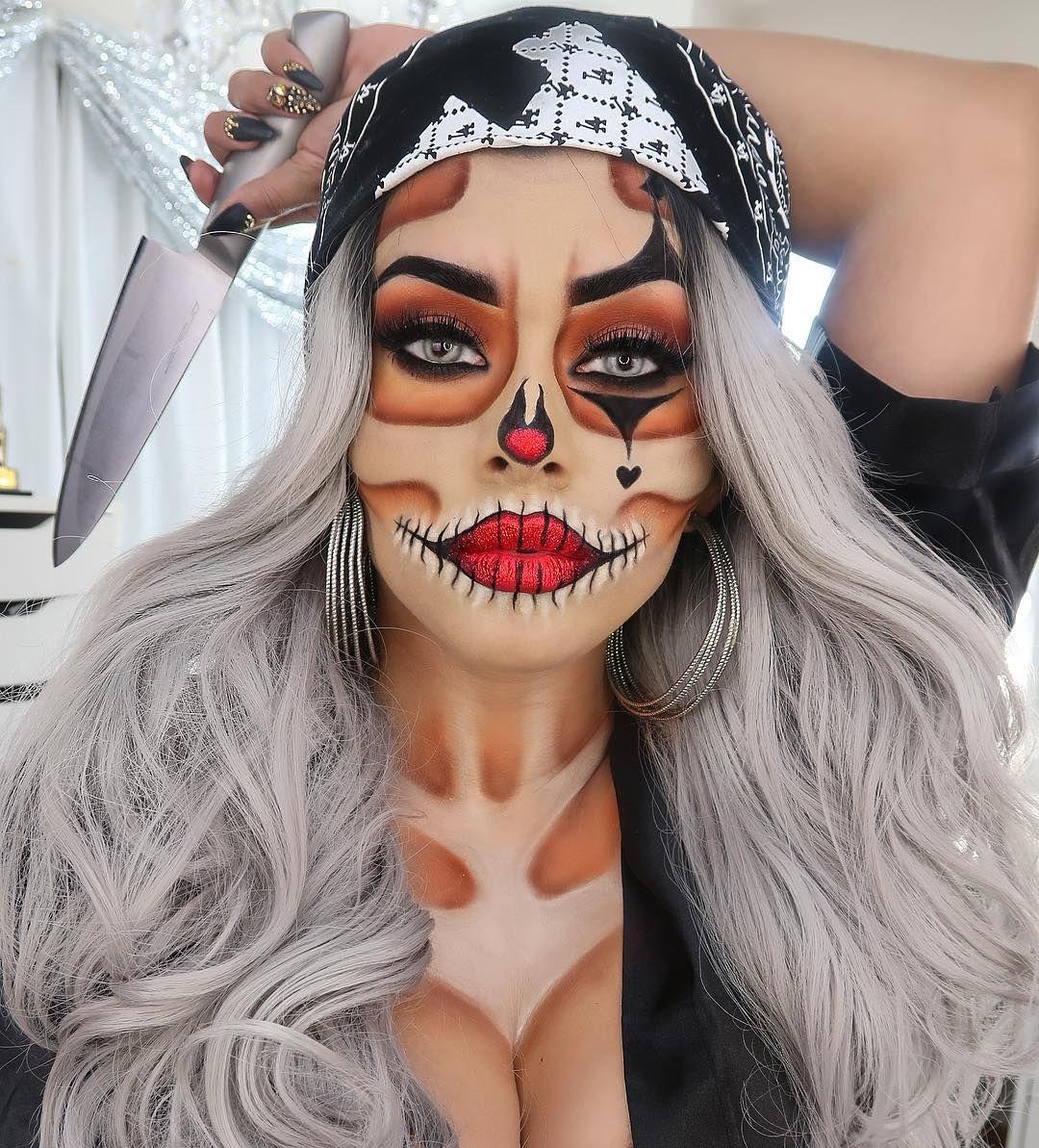 Les gusta este nuevo maquillaje para Halloween?? ya esta