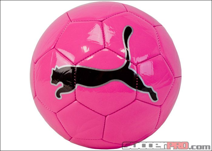 Neon Pink Puma Big Cat Ii Soccer Ball Neon Pink Soccer Ball Soccer Nike Soccer Ball