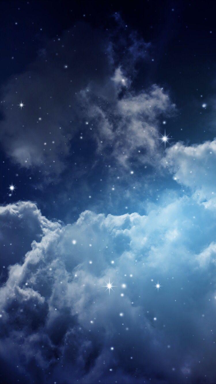 Magical Night Sky Iphone Wallpaper Moon Iphone Wallpaper Galaxy Wallpaper