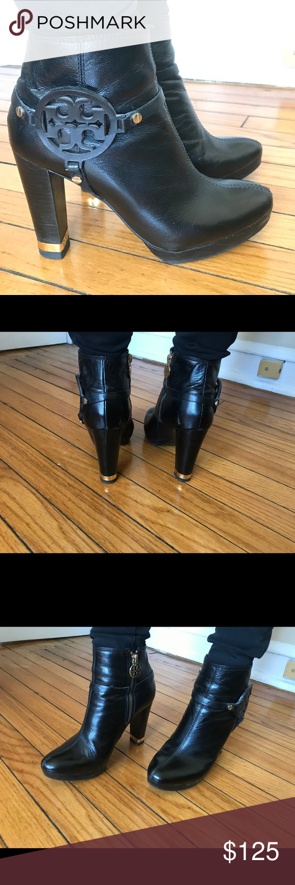 380ff9ed048b Tory Burch Whitney Ankle Boots 7.5 Tory Burch Whitney Ankle boots in good  condition. Minor