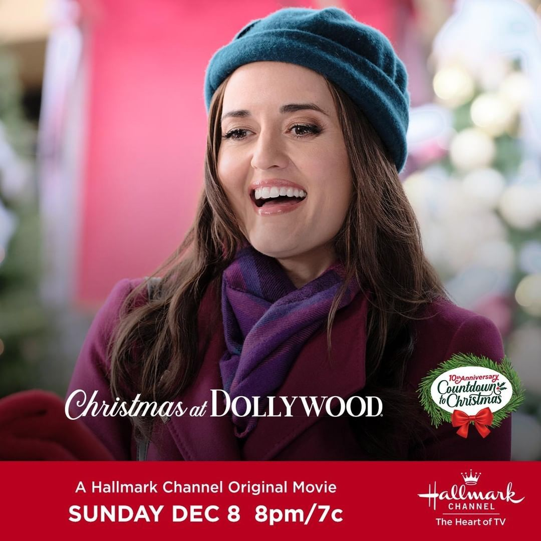 Hallmark Channel On Instagram We Are 1 Hour Away From The Premiere Of Christmas At Dollywo Hallmark Channel Hallmark Movies Romance Hallmark Christmas Movies
