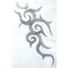 Rhinestone Iron On Transfer Hot fix Motif Crystal tattoo designs 2  deco Fashion