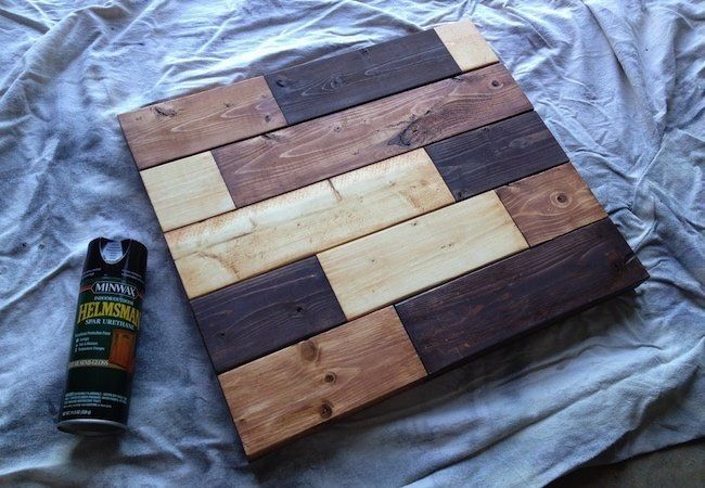 How To Make A Tabletop With 2x4s Diy Table Top Scrap Wood