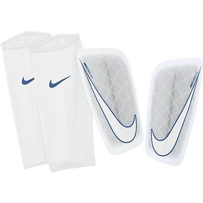 Nike Cr7 Mercurial Lite Shinguard Football Soccer Metallic White Soccer Shin Guards Soccer Football Soccer