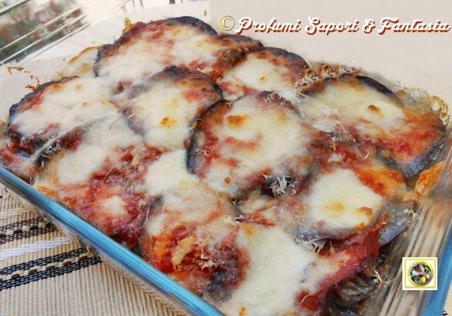 parmigiana di melanzane non fritte, ricetta veloce - Come Cucinare Le Melenzane