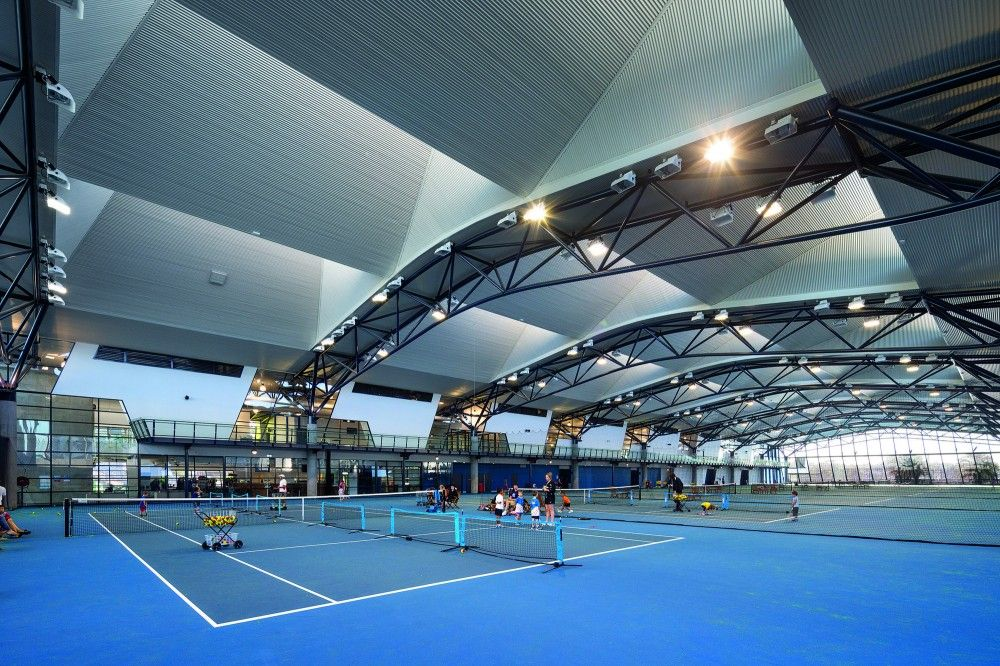 Gallery of National Tennis Centre / Jackson Architecture