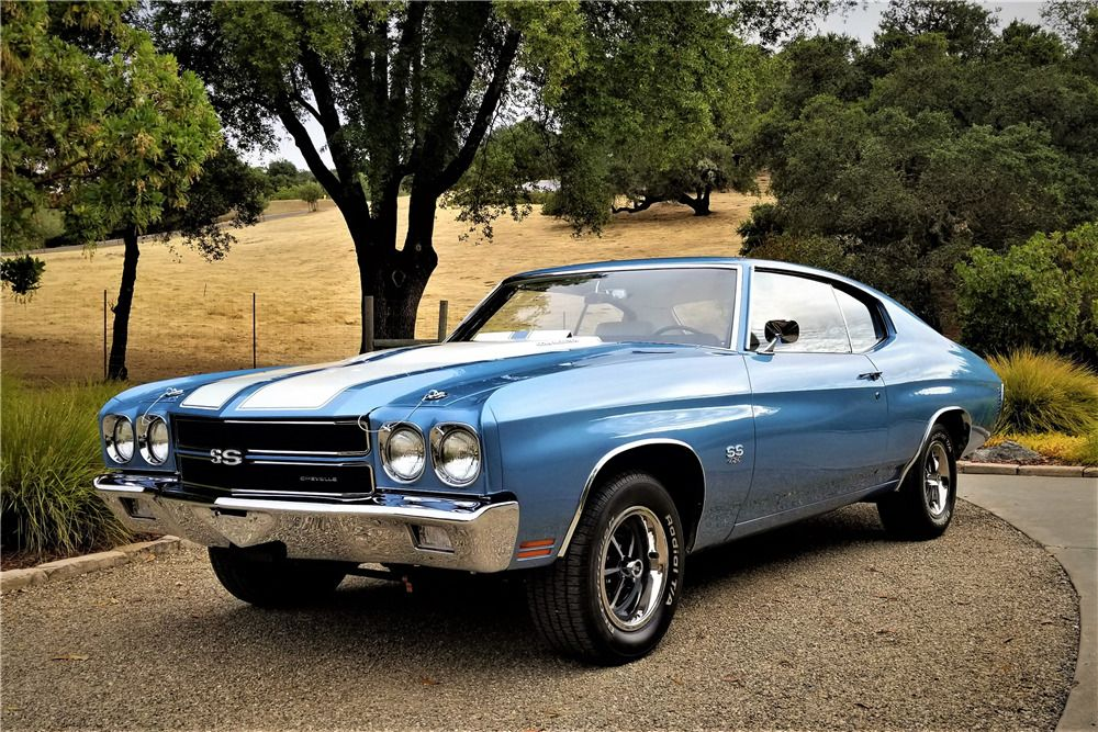 1970 CHEVROLET CHEVELLE LS6 – Barrett-Jackson Auction Company – World's Greatest Collector Car Auctions