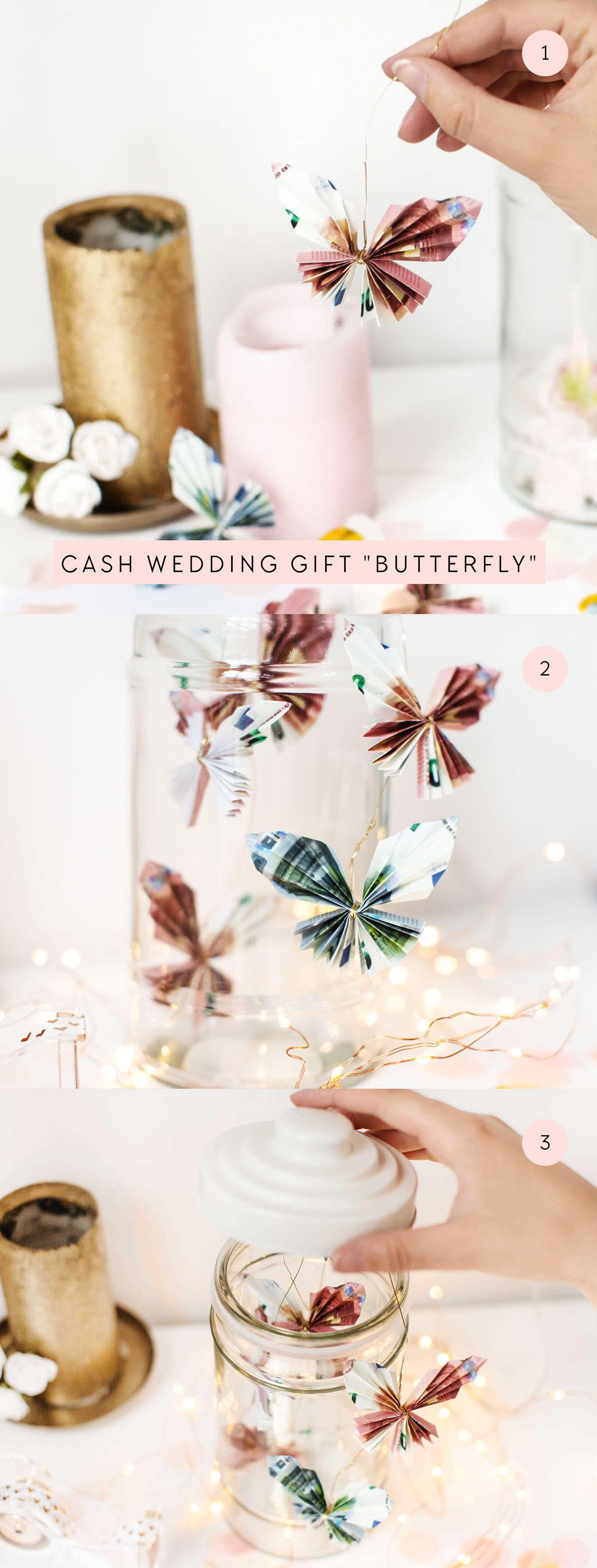 Cash Wedding Gift | Money gift wedding DIY  – JO & JUDY | DIYS & CRAFTS