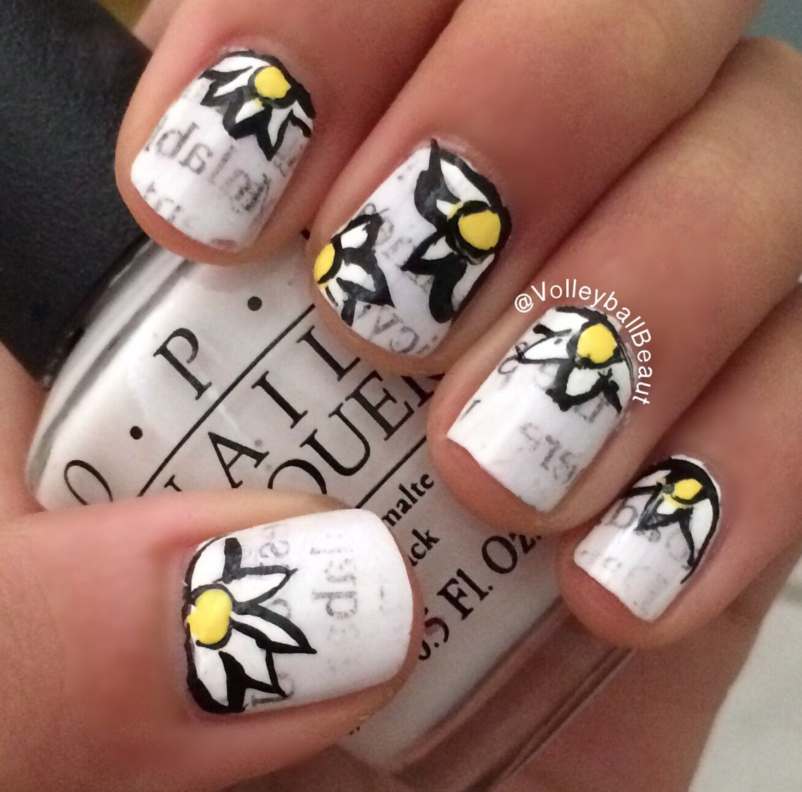 New nail art inspired by John green's looking for Alaska :) follow my nail account on Instagram (@nail.art.by.andi) for the tutorial ву: νσℓℓєувαℓℓ вєαυту♛ ↠ {VolleyballBeaut}↞