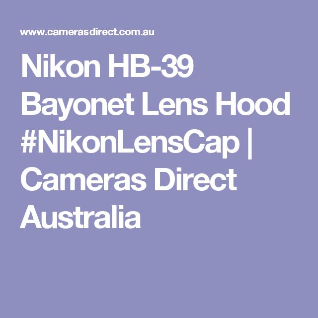 Pin On Nikon Lens Hood