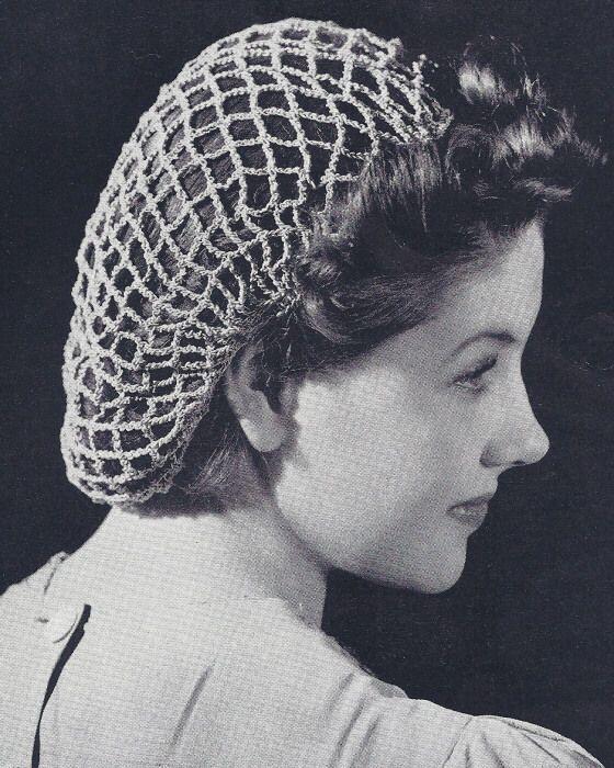 klassisches Haarnetz | Haarnetz Häkeln | Häkeln, Stricken und Netze ...