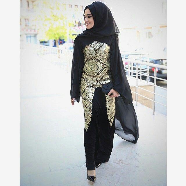 13689176f820b Hulya aslan | Abaya | Hijab fashion, Muslim women fashion, Muslim ...