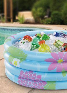 Ideias de decoração para uma festa na piscina - Bbel