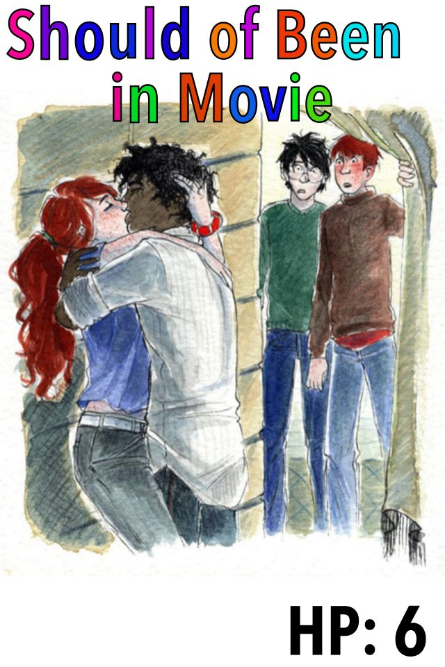 who was ginny dating in the half blood prince