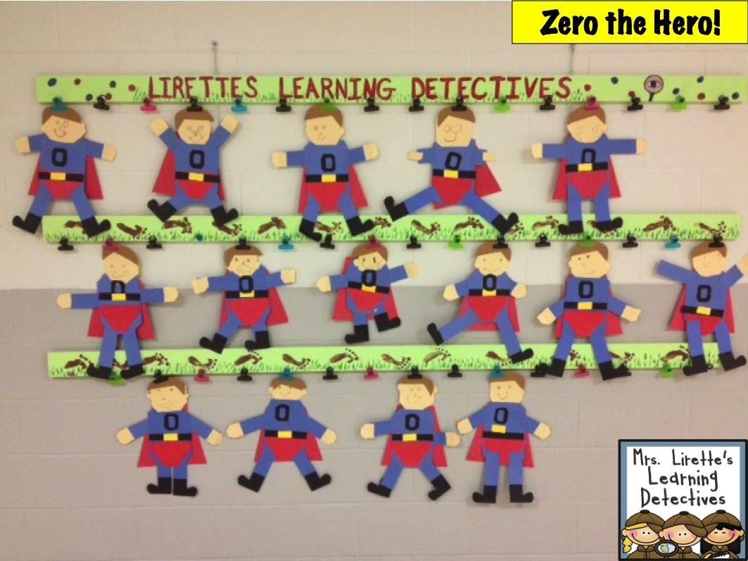 Mrs Lirette S Learning Detectives Zero The Hero