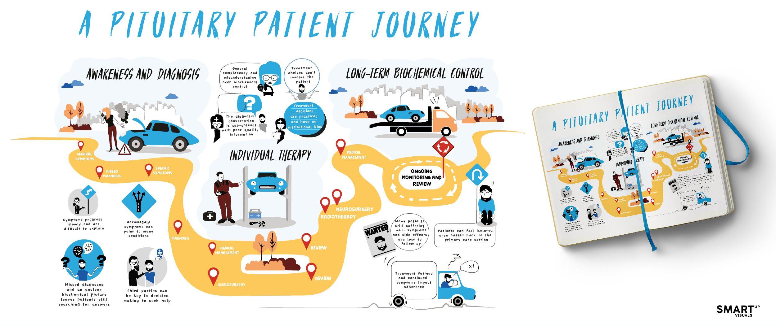 Novartis Customer journey mapping, Journey mapping