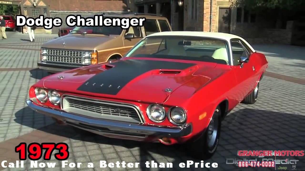 Vintage Dodge Cars Grangermotors Desmoines Area Cardealership Car Dealership Dodge Dodge Challenger