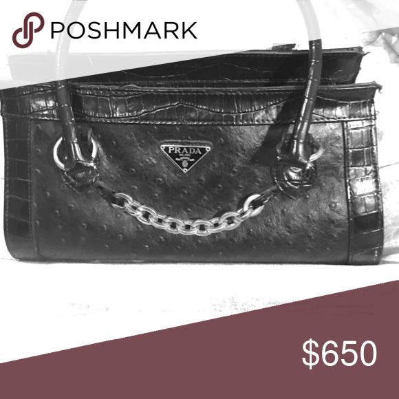 803649c568e2 Used Prada Bag Leather