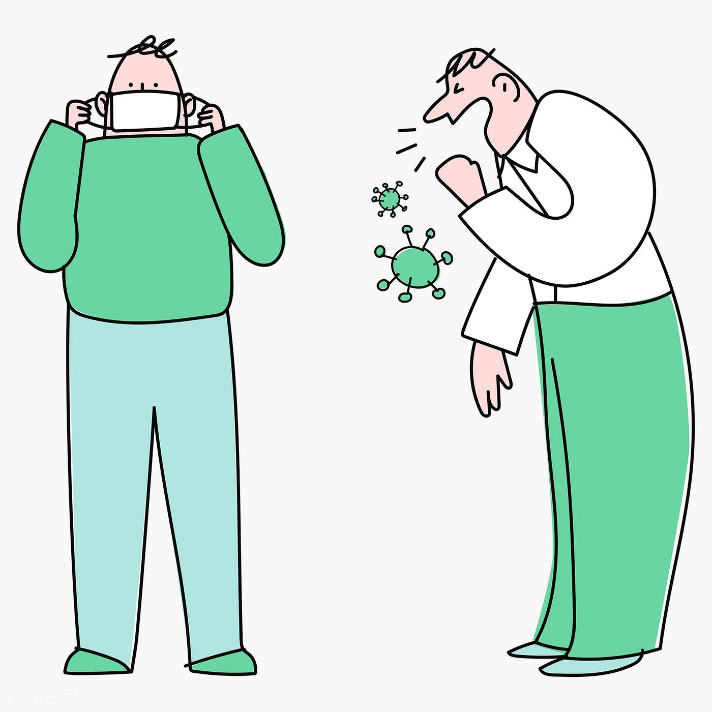 coughing man in public transparent png free image by rawpixel com nunny in 2020 png free png vector background pattern pinterest