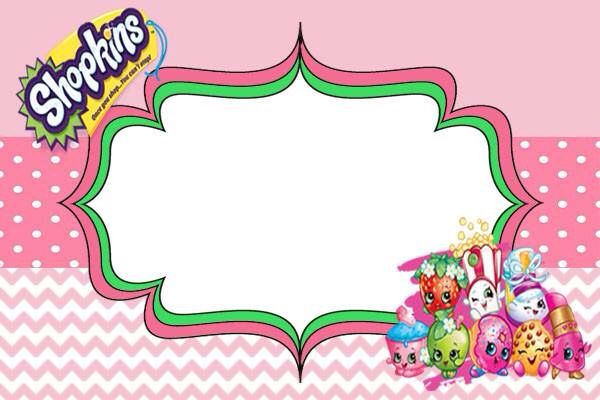 Shopkins Invitation Made For Free Look Me Up On Facebook