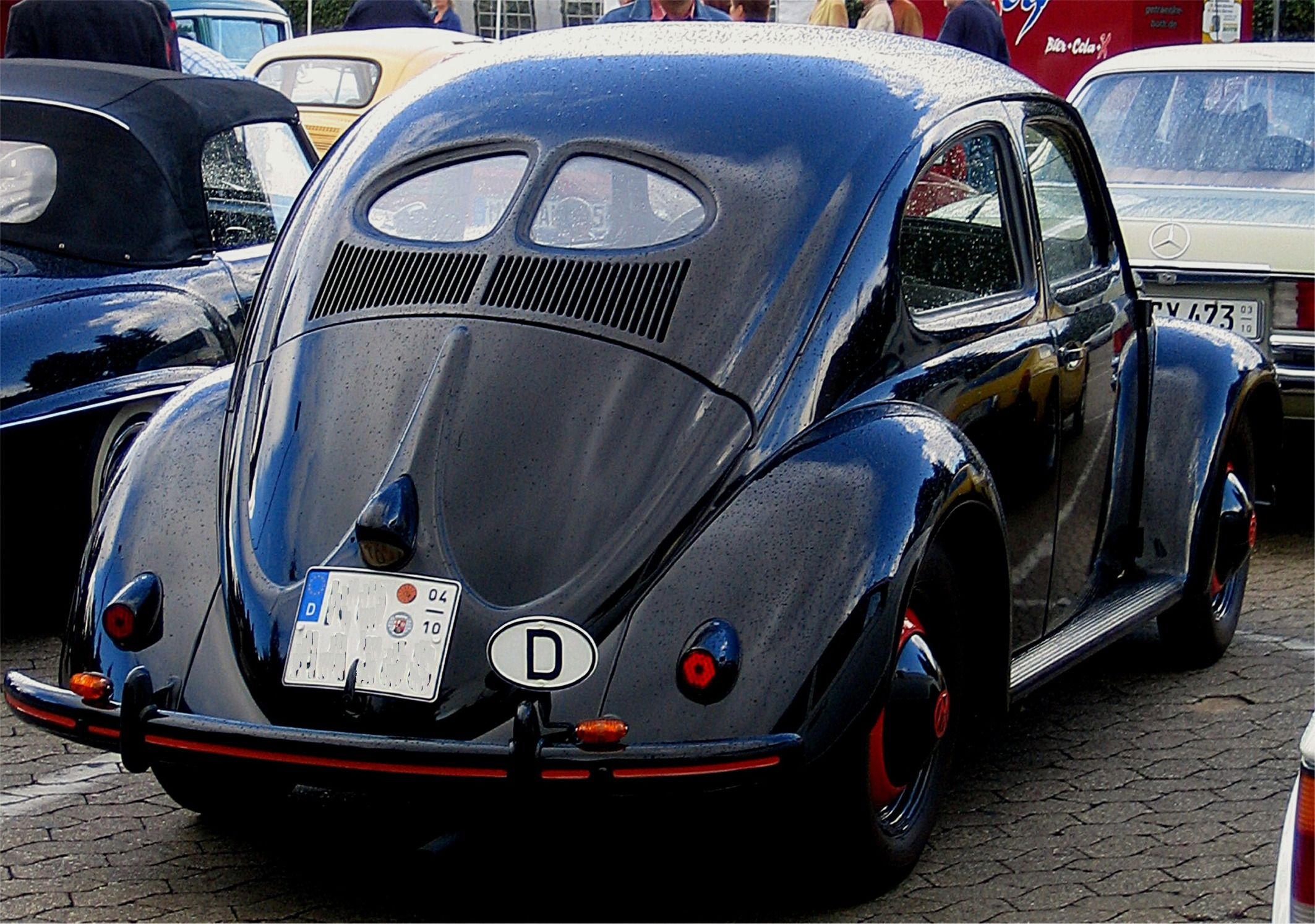 Classic Old European Cars - VW Beetle Bug, Renault and the Fico | Vw ...