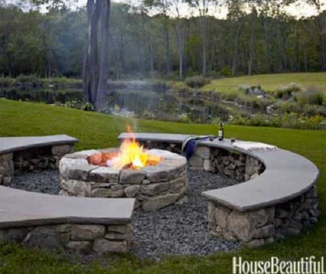 Google image result for for Outdoor fire pit construction