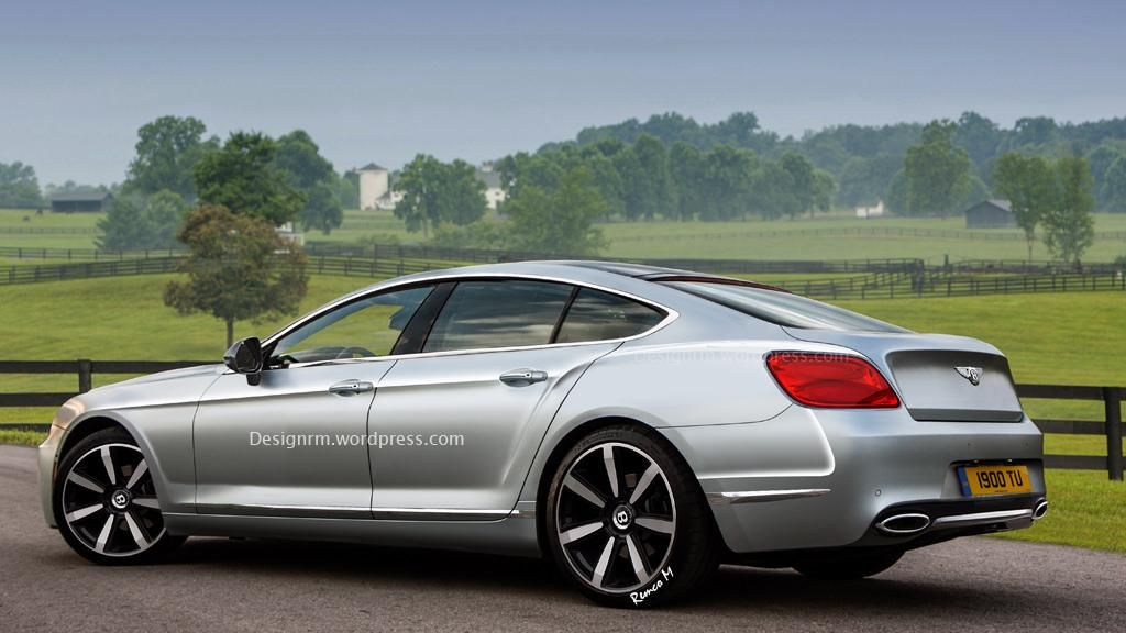 Bentley Four Door Coupe (render By RM Design)