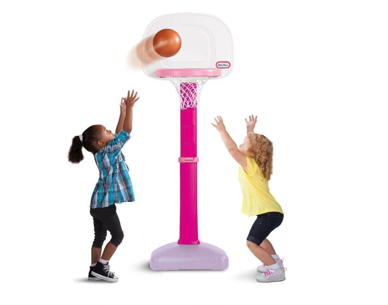 Little Tikes Easy Score Basketball Set Pink Basketball