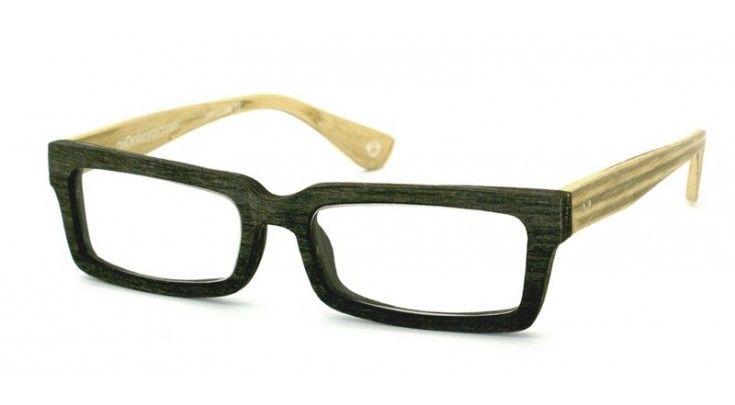 Leesbril van hout www.viltlijn.nl