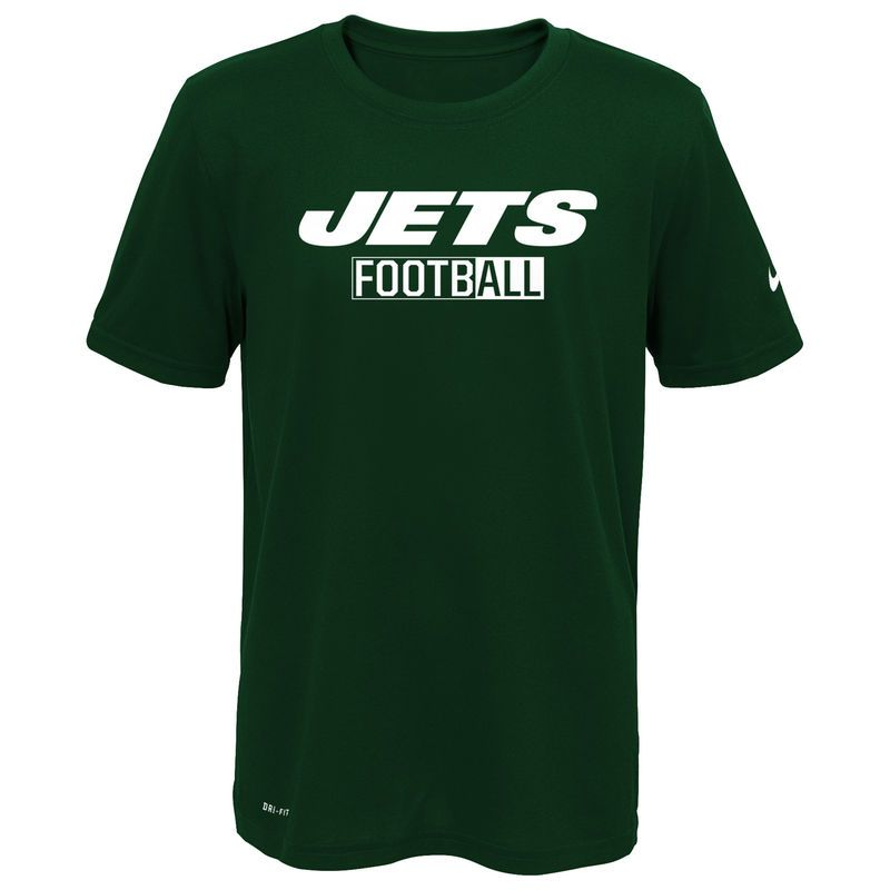 new york jets nike all football legend t shirt green new york jets nike nfl mens
